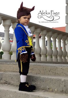 Beast Costume For boy Disney Beauty and the Beast by AleksPage