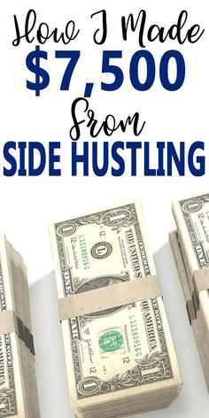 If you want to side hustle and earn extra money, here's exactly how it's done. Plus, I earned this on top of my full-time job. These side-hustles are perfect for busy moms, working moms, and those interested in diversifying their income.