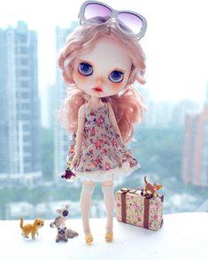 Tiny Dolls, Blythe Dolls, Pretty Dolls, Beautiful Dolls, Barbie, Kawaii Doll, Little Doll, Hello Dolly, Custom Dolls