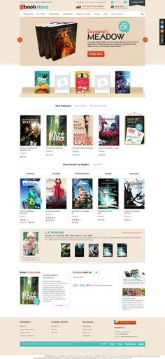 Book Store - Responsive OpenCart Template from BossThemes