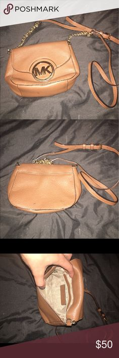 Crossbody MK bag! My most favorite going out purse but it's time to let her go! KORS Michael Kors Bags Crossbody Bags