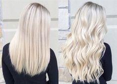 Balayage Blond, Icy Blonde, Blonde Hair, Gray Hair, Pretty Hairstyles, Wedding Hairstyles, Hairstyle Ideas, Hair Pictures, Hairstyles Pictures