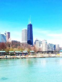 John Hancock Building Skyscraper Chicago Chicago