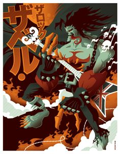 Very cool vintage posters by Tom Whalen