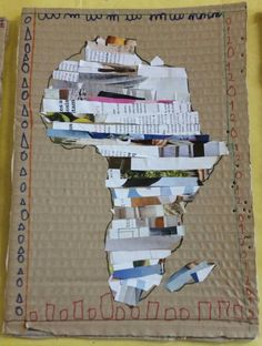 Africa Outline, Jenga, Toys, Activity Toys, Toy