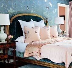 Chinoiserie Bedroom by Todd Richesin