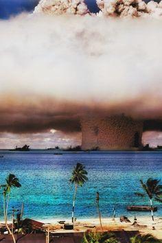 atom bomb testing