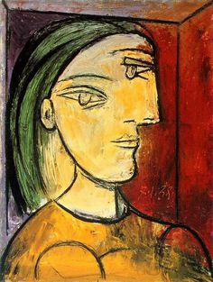 "Pablo Picasso - ""Portrait of Marie-Therese"". 1938"