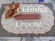 Croche-Centro De Mesa Ou Tapete Marroquino-Passo A Passo-Parte 2/2 - YouTube