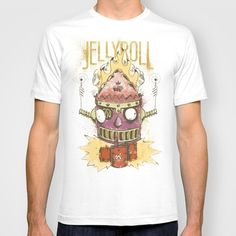 Jellyroll #9: Caos T-shirt by Renato Forster - $18.00