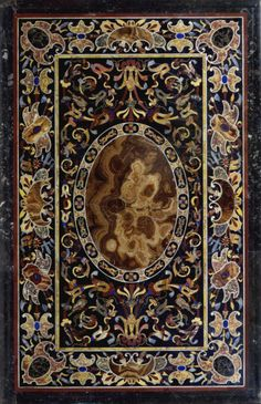 Pietra Dura - detail from the Badminton Cabinet