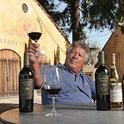 Mario Andretti - Andretti Winery - Napa Valley - This is where I was introduced to my new favorite wine, Sangiovese.