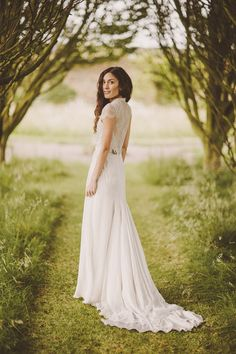 Bridal Gown: Jenny Packham | Photographer: Ed Peers | Via Snippet & Ink