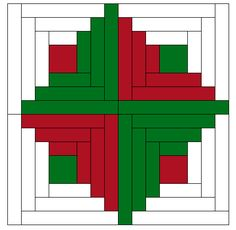 I hope you all enjoyed your week! We have a festive bundle to share with you today! :) You can't start thinking about Christm. Christmas Present Quilt, Christmas Log, Christmas Tree Quilt, Christmas Quilting, Christmas Stuff, Log Cabin Quilt Pattern, Log Cabin Quilts, Quilt Block Patterns, Quilt Blocks