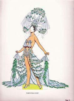 Ziegfeld Follies* The International Paper Doll Society by Arielle Gabriel for all paper doll and paper toy lovers. Mattel, DIsney, Betsy McCall, etc. Join me at ArtrA, #QuanYin5 Linked In QuanYin5 YouTube QuanYin5