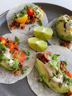 TACOS Avocado Toast, Tacos, Breakfast, Ethnic Recipes, Food, Morning Coffee, Essen, Meals, Yemek