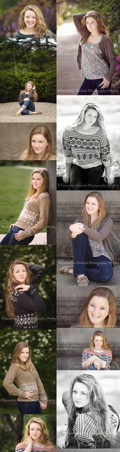 Samantha Sinchek Cincinnati Senior Photographer | Ault Park
