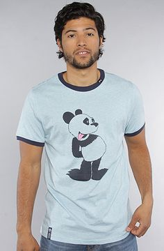 LRG  The Pucky Panda Tee in Light  20% off with use of repcode:PLNDR11  http://www.karmaloop.com/product/The-Pucky-Panda-Tee-in-Light-Blue-Heather/227277