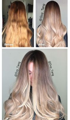 Guy Tang ombre color correction