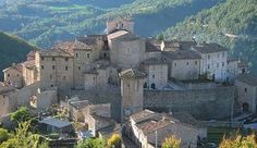 Vallo di Nera, in the Valnerina. A nearly abandoned town in a beautiful valley just east of Spoleto, in Umbria.