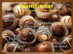 Missed our last #GlamourDay? We have a brand new one in August!