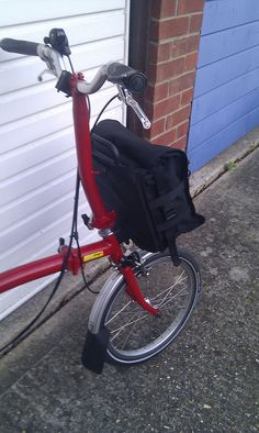 Custom Brompton Bag by S_Trickett, via Flickr