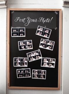 Post your photo board! Love the washi tape detail. Photo: Josh Gruetzmacher
