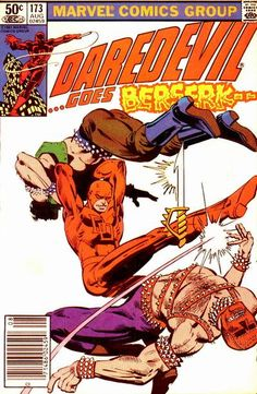 Daredevil # 173 by Frank Miller & Klaus Janson