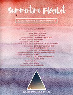 LP Summer Guide 2015- Summertime Playlist