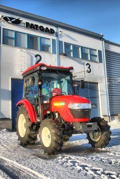 Branson tractor in Finland.