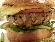 <p>These burgers are tasty and hold together perfectly. I didn't add a lot of spices to the burgers so go crazy with the toppings. We had them with lettuce, tomatoes, avocado and topped with sauteed mushrooms and Mississippi Comeback Sauce!  Here's to perfect burger making!</p>