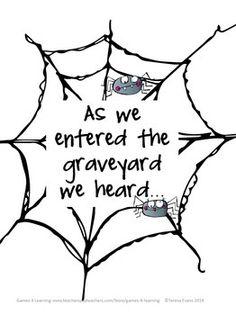 Mrs. Heeren's Happenings: Halloween Writing Paper
