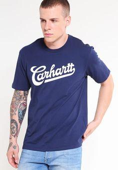 Kleding Carhartt WIP VINTAGE LOOSE FIT  - T-shirt print - blue/white Donkerblauw: € 34,95 Bij Zalando (op 7-4-17). Gratis bezorging & retournering, snelle levering en veilig betalen!
