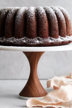 "NYT Cooking: This recipe is a more sophisticated (and boozier) version of one found in Maida Heatter's ""Book of Great Chocolate Desserts."" The cake is rich, dense and full of chocolate, with a spicy, peppery, burnt caramel tang."