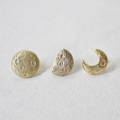 PalnartPoc PA288 moon earrings!!