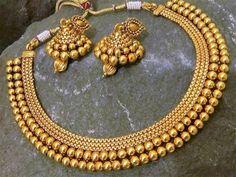 Gold Jewelry Design In India Gold Set Design, Gold Bangles Design, Gold Jewellery Design, Fancy Jewellery, Jewellery Shops, Diy Design, Indian Jewelry Sets, India Jewelry, Gold Jewelry Simple