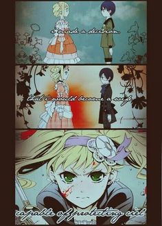 this is why I love Lizzie, she ain't a damsel in distress, she WANTS to protect Ciel