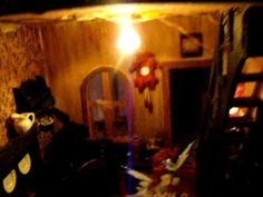 Spooky Hollow Haunted Doll House tour part 1 Haunted Dollhouse, Haunted Dolls, Queen Mary, Inner Child, Small Houses, Small World, Shadow Box, House Tours, Diorama