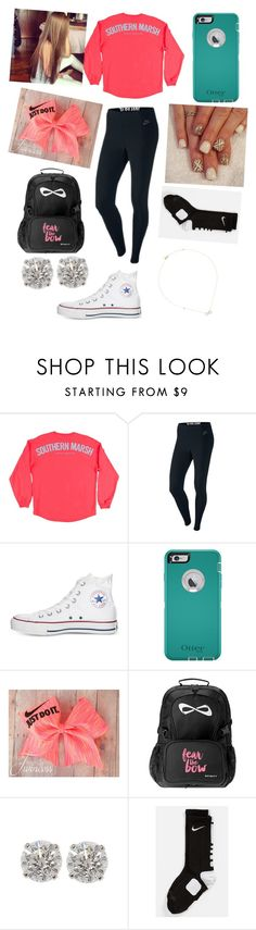 """""""Hey y'all!!! (Read D)"""" by one-of-those-nights ❤ liked on Polyvore featuring NIKE and Converse"""