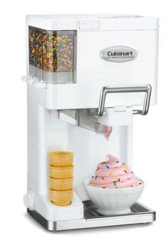 Ice Cream Maker Blender Machine Electric Countertop Appliance Kitchen Summer New #DesertMaker