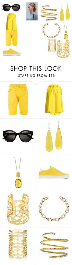 """""""Jake the Dog"""" by siamesegeneral on Polyvore featuring La Sportiva, Conquista, Michael Kanners, Effy Jewelry, Givenchy, Jules Smith and Venus"""