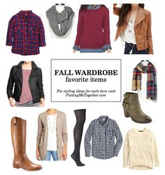 Fall Wardrobe Favorite Items