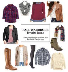 Fall Wardrobe Favorite Items