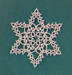 Late Winter Snowflake - Tatting by the Bay/Robin Perfetti