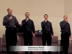 Garment of Praise Quartet sings Damascus Road from their project A Better Way at Martindale Mennonite Church in Lancaster PA on November 22, 2008