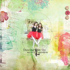 Dancing in the Secret Garden #jenmaddocks