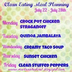 Monday+Clean+Eating+Menu.jpg 894×894 pixels