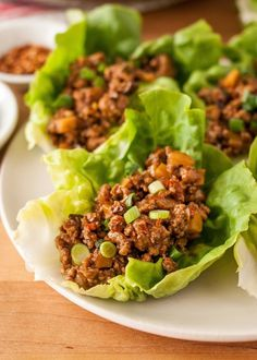 How To Make Chicken Lettuce Cups