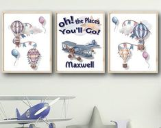 Wall Art For Nursery Bathroom Decor Home Decor by FMDesignStudio Playroom Wall Decor, Boys Room Decor, Nursery Decor, Housewarming Gifts, Bedroom Wall, House Warming, Baby Shower Gifts, Wedding Gifts, Gallery Wall