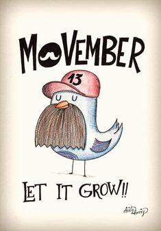 Movember - let it grow - www.dirtyharry.es